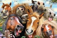 Selfies Horses - 48 Pieces |Yorkshire Jigsaw Store